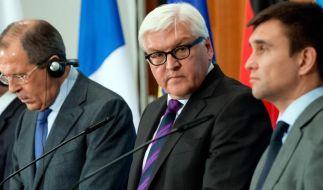 Moskau und Kiew für neue Waffenruhe in der Ostukraine (Foto)