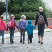 Kinder bei Tagesmutter gesetzlich unfallversichert (Foto)