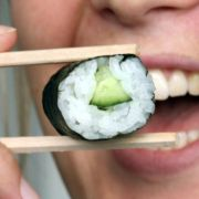 Sushi am besten sofort verspeisen (Foto)