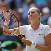 Tschechin Kvitova in Wimbledon als Erste im Finale (Foto)
