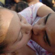 Küssen als «Energiespritze» für den Körper (Foto)