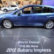 Auch eine Million Subaru müssen in die Werkstätten (Foto)