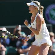 «Genie» Bouchard vor dem ersten Grand-Slam-Titel (Foto)