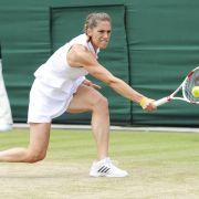 Wimbledon: Petkovic/Rybarikova verpassen Doppel-Finale (Foto)