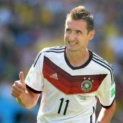 WM-Einsätze: Klose zieht an Seeler vorbei (Foto)