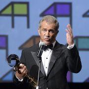 Mel Gibson mit Kristallglobus ausgezeichnet (Foto)
