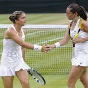 Errani und Vinci gewinnen Damen-Doppel in Wimbledon (Foto)