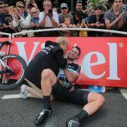 Cavendish droht Tour-Aus - Bänderrisse in der Schulter (Foto)