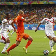Oranje siegt 4:3 im Elfmeterschießen über Costa Rica (Foto)