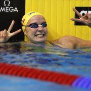 Sjöström schwimmt Weltrekord über 50 Meter Schmetterling (Foto)