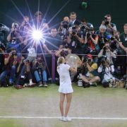Tschechien liegt Tennis-Queen Kvitova zu Füßen (Foto)