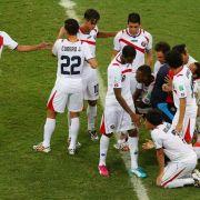 Costa Rica vor Mega-Empfang - Präsident rühmt Heldentat (Foto)