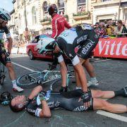 Cavendish muss bei 101. Tour de France aufgeben (Foto)