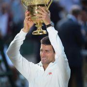Wimbledon-Champion (Foto)