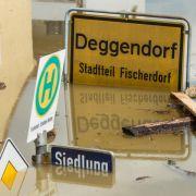 Gauck besucht Deggendorf ein Jahr nach der Flut (Foto)
