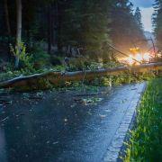 Unwetter zieht über den Südwesten Deutschlands (Foto)