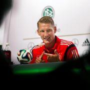 Halbfinal-Highlight: Schweinsteiger will «genießen» (Foto)