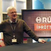 Bogi Ágústsson steht in Island für Nachrichten (Foto)