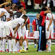Costa Rica nach WM-Erfolg optimistisch für die Zukunft (Foto)