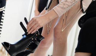 Berlin Fashion Week:Harte Arbeit für coole Mode (Foto)
