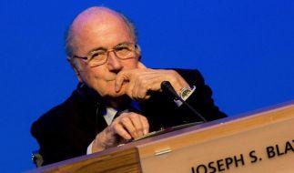 FIFA-Boss Blatter wurde zum Rücktritt aufgefordert. (Foto)