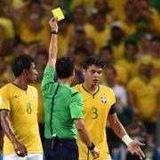 FIFA: Thiago Silva bleibt für Halbfinale gesperrt (Foto)