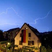 Unwetter ziehen über Teile Deutschlands hinweg (Foto)