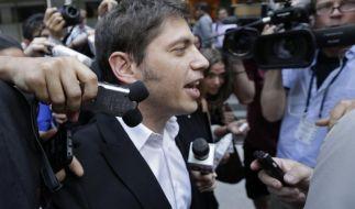 Argentinien berät im Schuldenstreit mit Schlichter (Foto)
