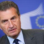 Russisch-ukrainischer Gasstreit: Oettinger will vermitteln (Foto)