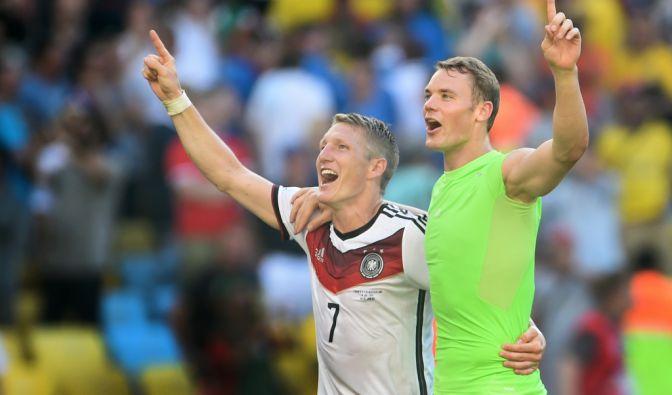 WM 2014: Brasilien vs. Deutschland