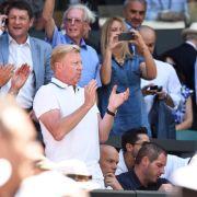 Becker und Graf als Champions - «Unglaublicher Tag» (Foto)