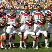 Deutsche WM-Auswahl mit Viertelfinal-Formation (Foto)