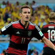 16. WM-Tor:Klose übertrifft Ronaldo als Rekordschütze (Foto)