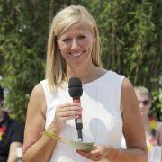 Andrea Kiewel und ihre Gäste sind heiß auf den WM-Titel 2014.