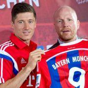 Nummer 9 und viel Lob für Bayern-Stürmer Lewandowski (Foto)