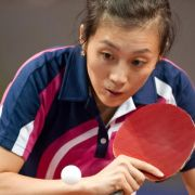 Tischtennis-Nationalspielerin Ying erstmals in Top Ten (Foto)