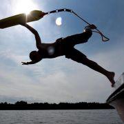 Kaltes Badegewässer kann für Schwimmer lebensgefährlich werden (Foto)