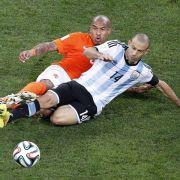 Argentinien deutscher Gegner im WM-Endspiel (Foto)