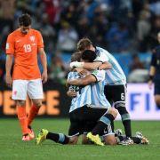 Argentinien freut sich auf Finale gegen Deutschland (Foto)