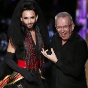 Gaultiers Gruftie-Schau mit Conchita Wurst (Foto)