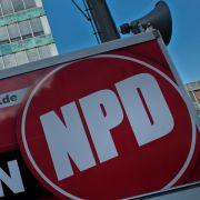 Blamage für die NPD - auf allen Kanälen (Foto)