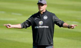 Schaaf auch in Frankfurt für offensives Spiel (Foto)