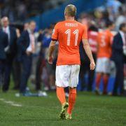 Robben & Co. schimpfen auf «kleines Finale» (Foto)