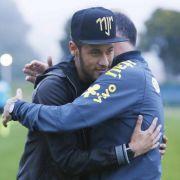 Neymar zürnt Zúñiga: «Zwei Zentimeter» (Foto)