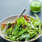 Auf die Schoten, fertig, los - Erbsen-Bohnen-Salat (Foto)
