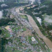 Taifun «Neoguri» zieht ab - Tokio verschont geblieben (Foto)