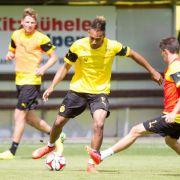Trainingspause für Dortmunder Profi Aubameyang (Foto)
