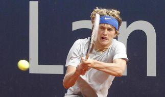 Vorfreude und Druck: Youngster Zverev am Rothenbaum (Foto)
