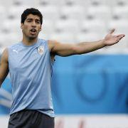 Transferjagd auf WM-Stars zieht an - Suárez zu Barcelona (Foto)