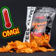 Blair's Habanero Chips (2,90 Euro).